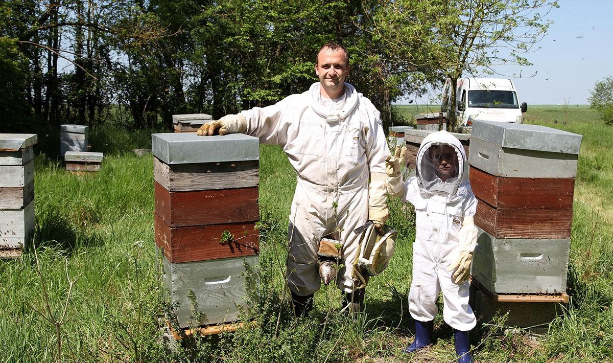 apiculteur equipement julien