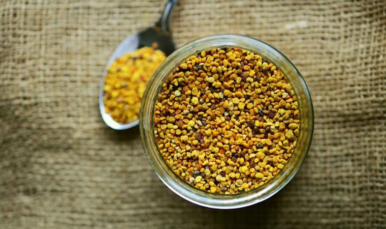 bienfait du miel pollen