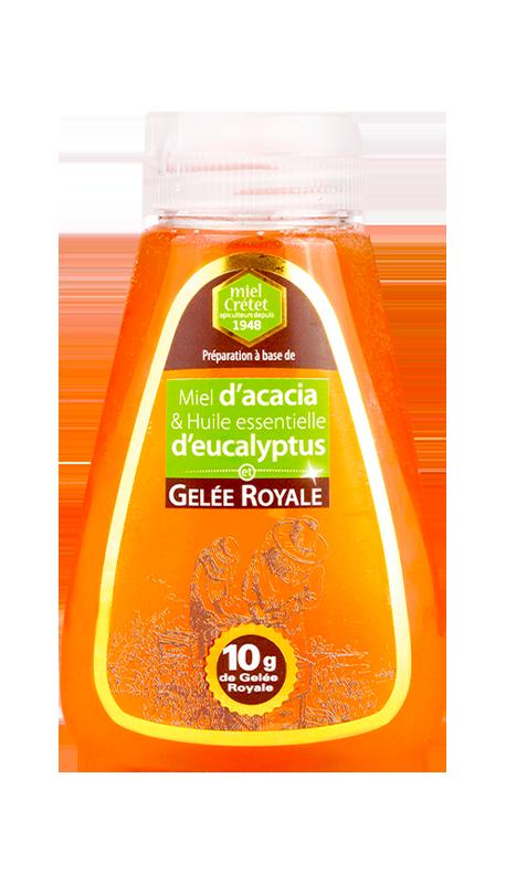 miel enrichi squeezer acacia eucalyptus