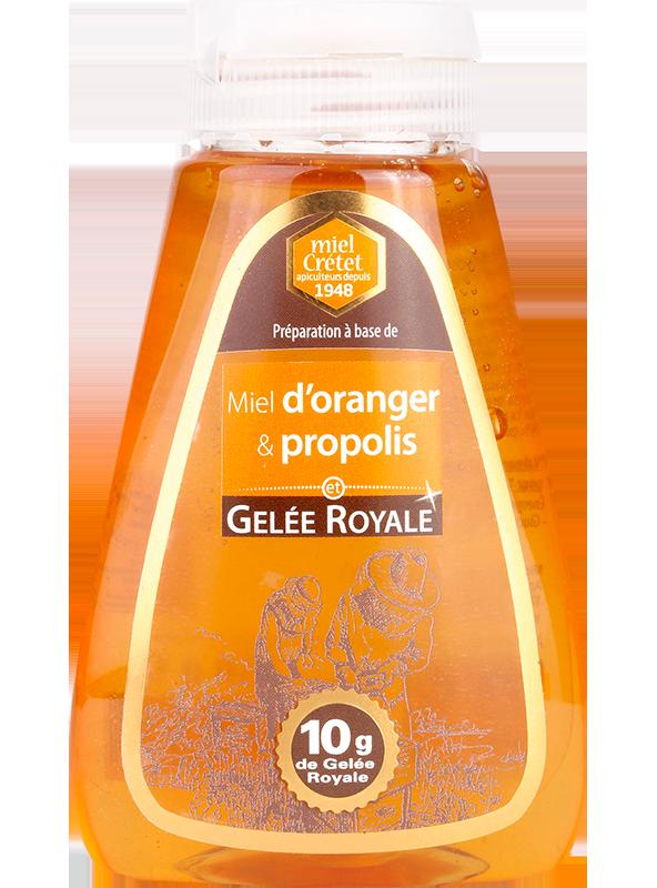 miel enrichi squeezer oranger et propolis