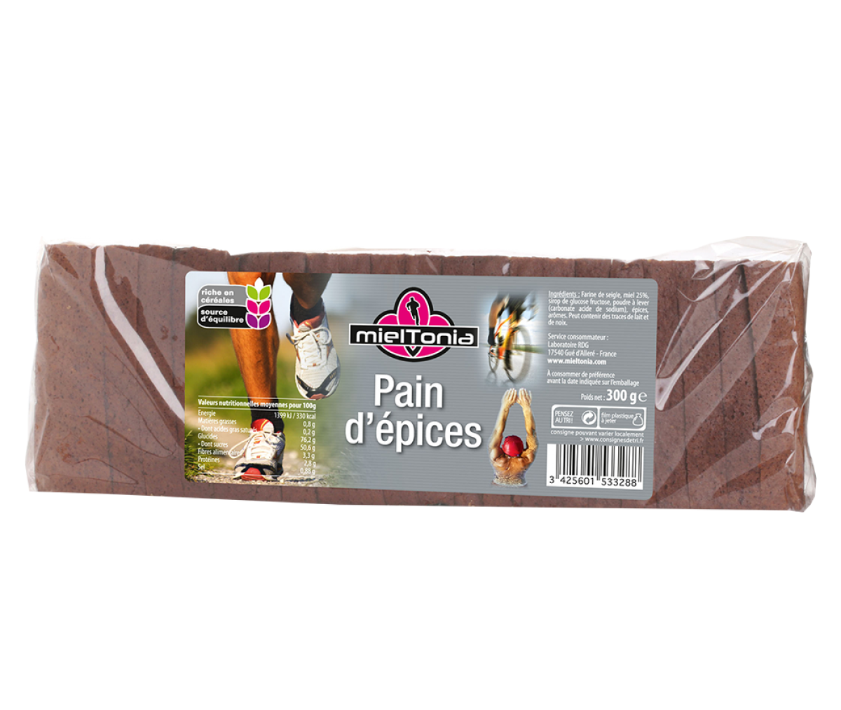 miel tonia pain epices sportif