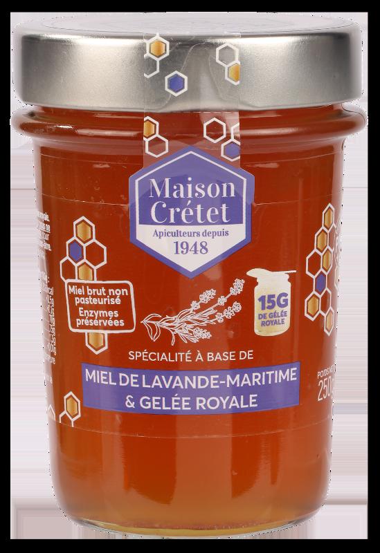 miel enrichis miel lavande gelée royale 250g