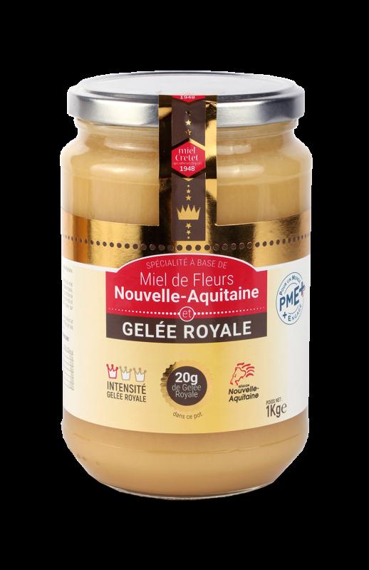 miels enrichis gelee royale nouvelle aquitaine