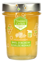 miel enrichi miel acacia gelée royale 25g