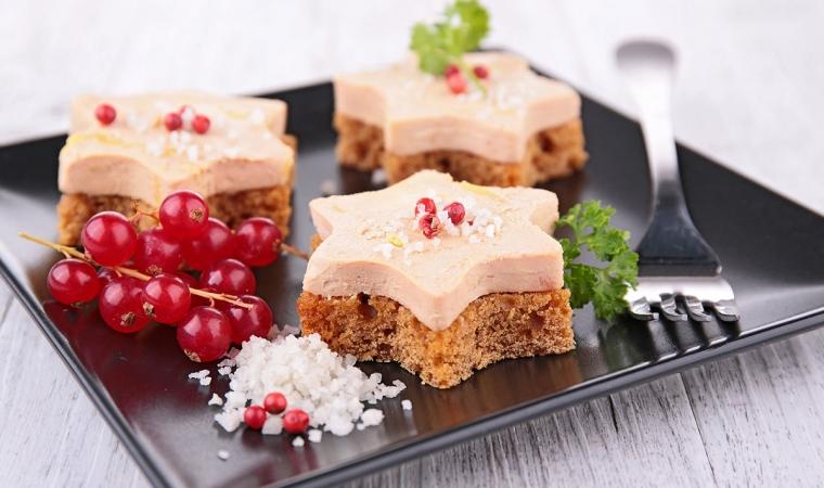 pain epices foie gras toast