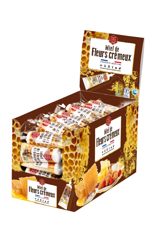 restaurateurs presentoir miel chocolat noisettes