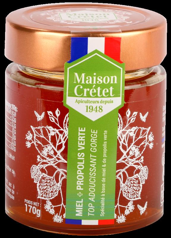 top santé miel+propolis verte 170g