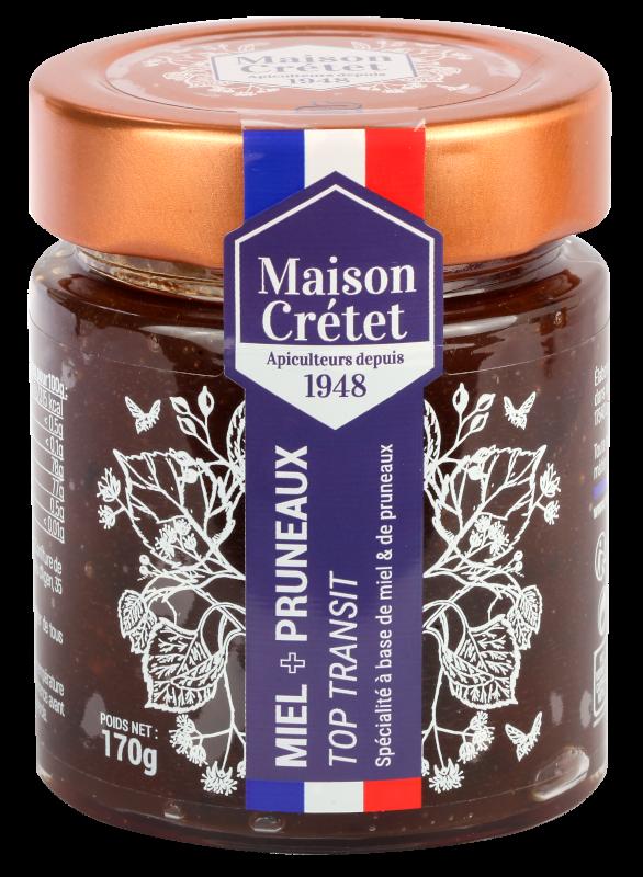 top santé miel+pruneaux170g
