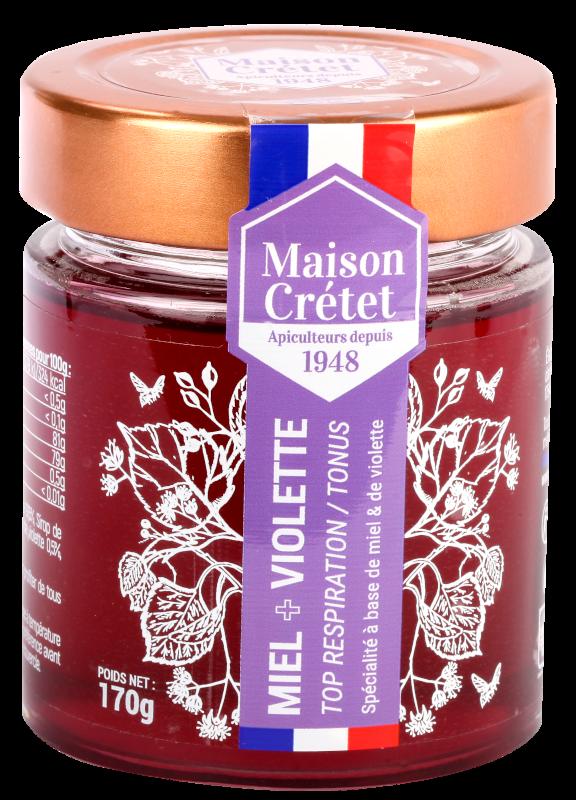 top santé miel+violette170g