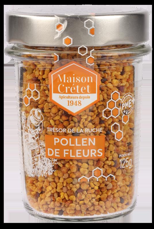 top santé pollen 125g