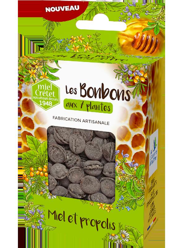 tradition bonbons 7 plantes et propolis