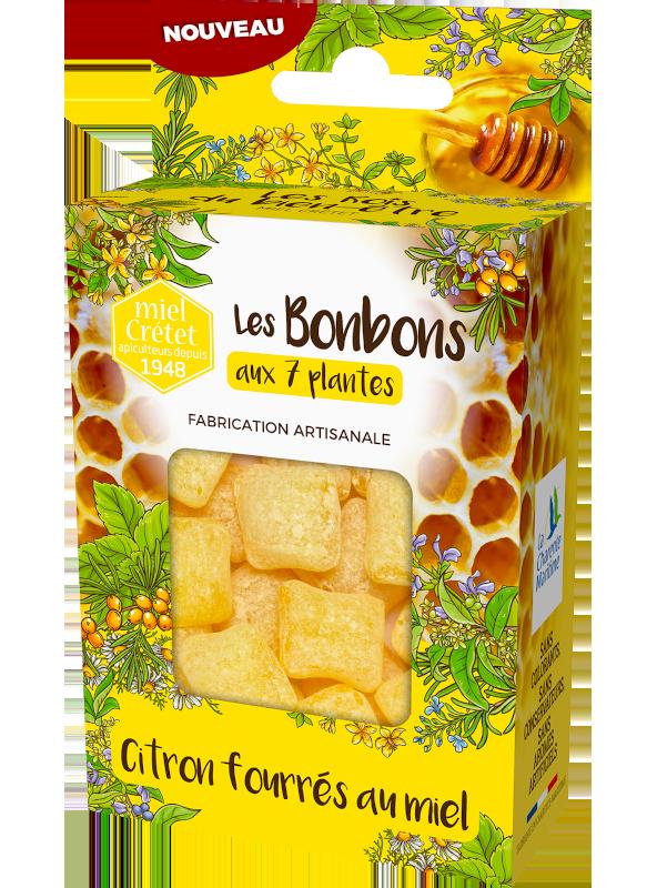 tradition bonbons 7 plantes miel citron