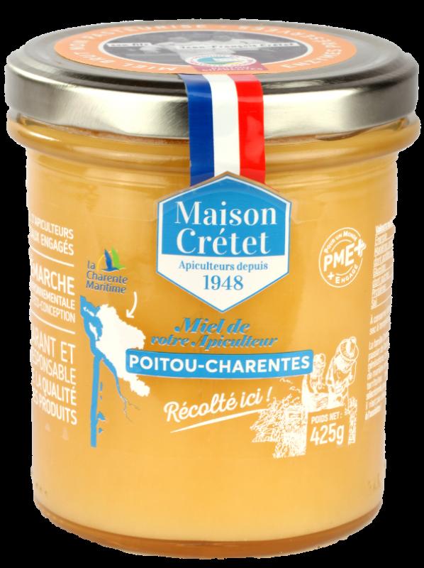 tradition miel récolté ici 425gr