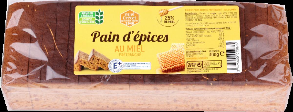 tradition pain épices miel 300g