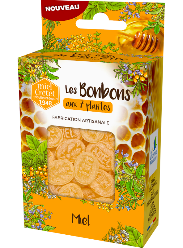 traditon bonbons 7 plantes miel